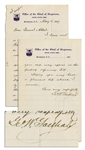 George W. Goethals Autograph Letter Signed -- Goethals Is Widely Admired for His Supervision of the Panama Canal Construction