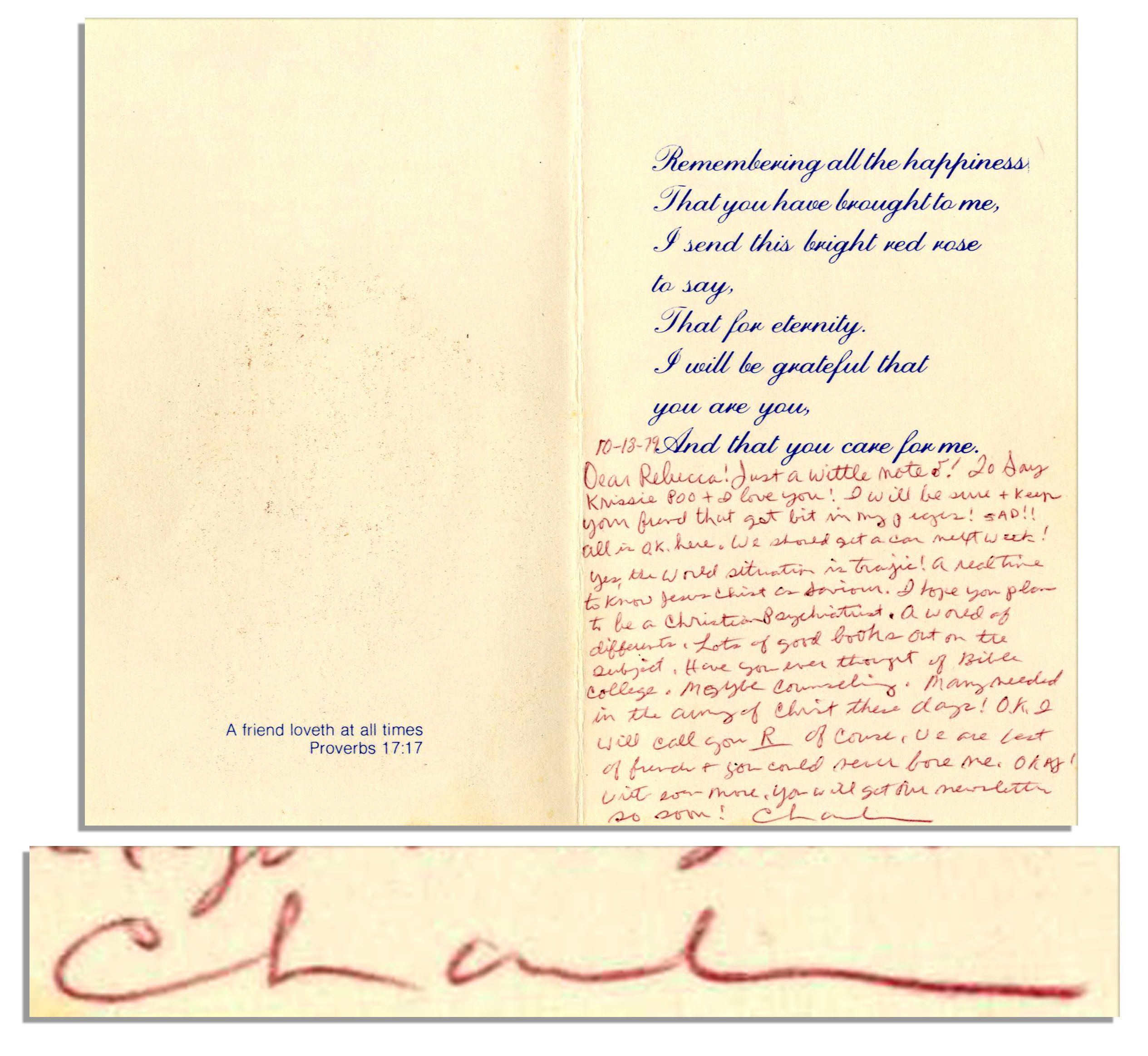 Lot Detail Charles Tex Watson Autograph Letter Signed Within A