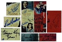 Cast-Signed Gone With The Wind 8 x 10 Photo -- Signed by Six of the Cast -- Frank Junior Coghlan, Ann Rutherford, William Bakewell, Cammie King, Rand Brooks & Marjorie Reynolds