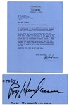 Ray Harryausen Typed Letter Signed -- ...whether he can find an outlet for his creative artistry...