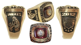 Jamaal Wilkes Hall of Fame Ring Obtained Directly from Him -- Fine