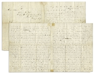 Civil War Letter by William H. Foss of The 1st Independent Sharpshooters -- Battle of Globe Tavern at Weldon Railroad -- ...I do hate to see human beings shot down like wilde beast...