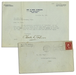 Charles D. Coburn Typed Letter Signed -- ...We are planning a production of MacBeth...