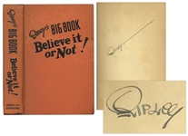 Robert Ripley Signed Believe it or Not!