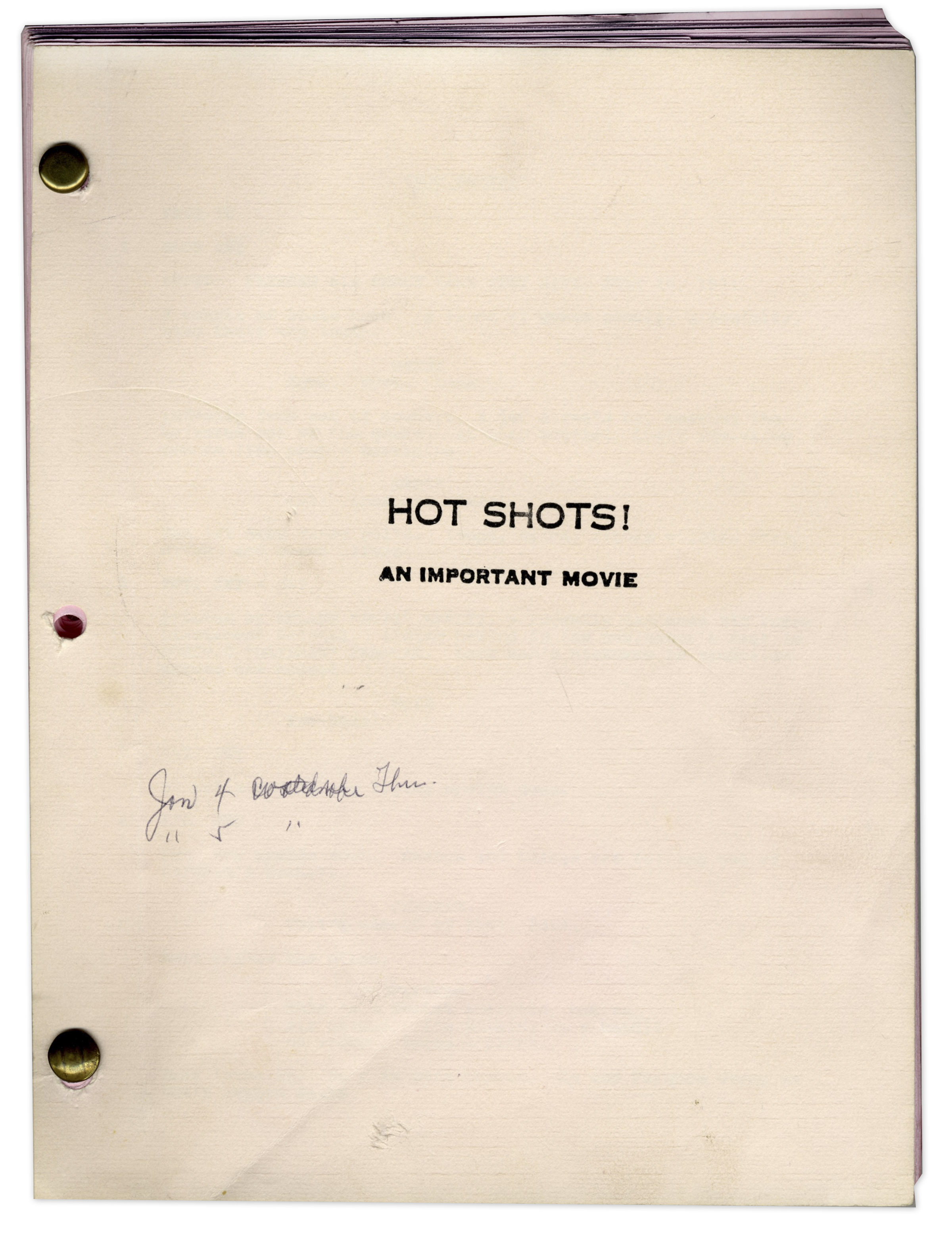 Naked Gun Script 58