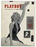 First Issue Playboy Featuring Marilyn Monroe From December 1953