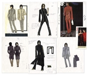 Prince Fashion Illustrations From Paisley Park -- With LOA From Princes Fashion Collaborator