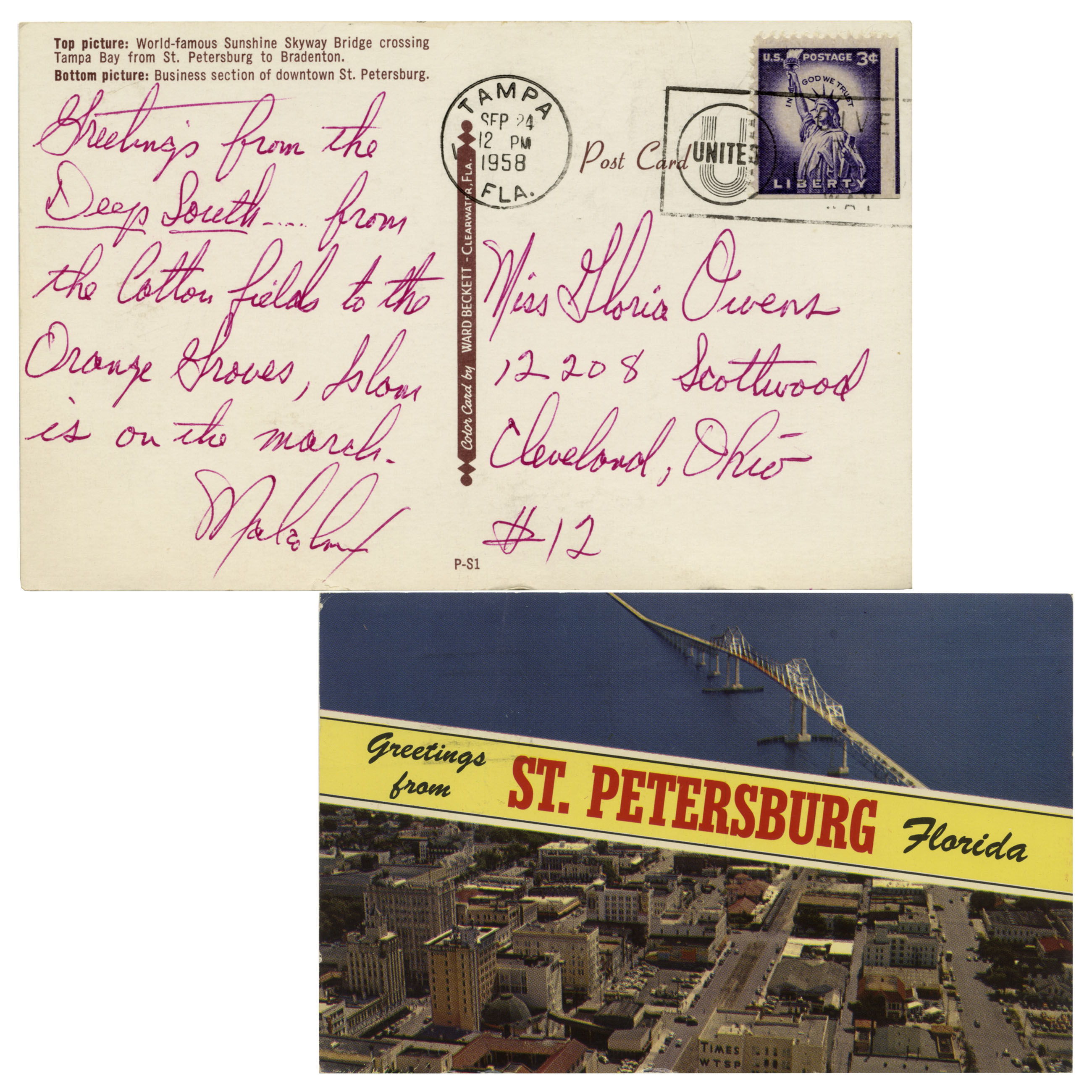 Lot detail malcolm x autograph letter signed from 1958 malcolm x autograph letter signed from 1958 greetings from the deep south m4hsunfo