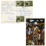 Malcolm X Autograph Note Signed -- ...from beautiful Nigeria here in West Africa...