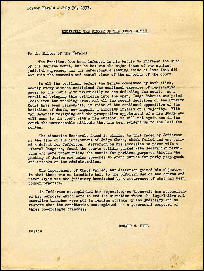 a letter to an editor about an article on eleanor roosevelt Going back further, the city prepared for a visit by former first lady eleanor roosevelt in october 1952, after learning the news in the oneonta star on sept 16.