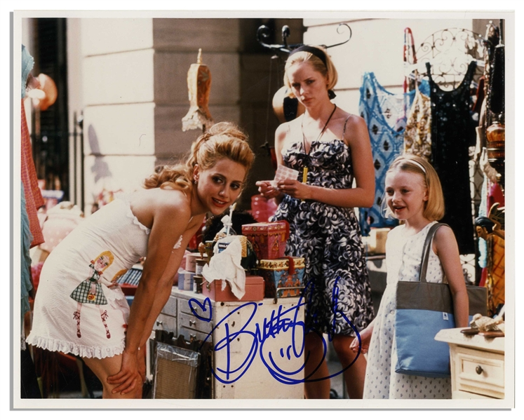 Brittany Murphy 10'' x 8'' Photo From ''Uptown Girls'' Signed Before Her Untimely Death at Age 32