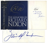 Richard Nixon Signed First Edition of RN: The Memoirs of Richard Nixon