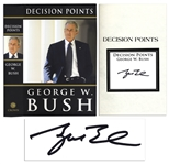 George W. Bush Limited Edition Decision Points Signed