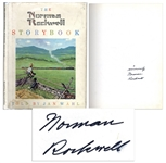Norman Rockwell Signed Copy of The Norman Rockwell Storybook