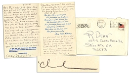 Charles Tex Watson Autograph Letter Signed From Prison -- ...We have overcome THE LIE OF THE DEVIL...