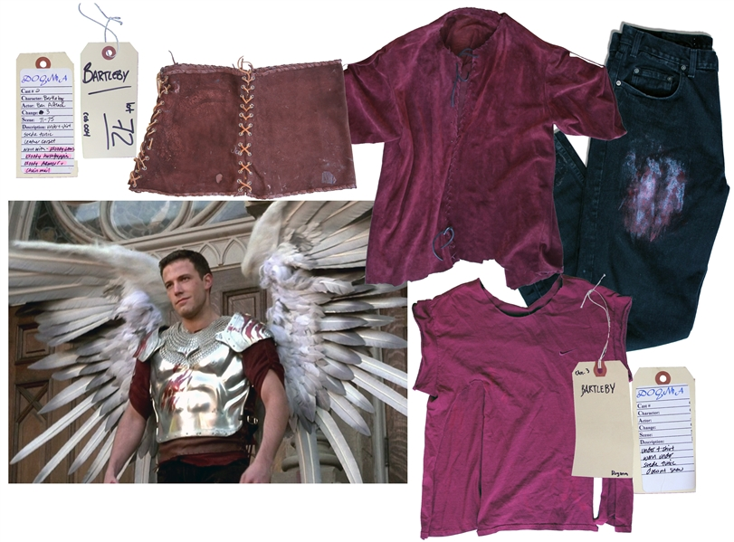 Ben Affleck Screen-Worn ''Hero'' Costume From the Climactic Ending of ''Dogma'' -- With the Director's COA