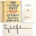 Lyndon B. Johnson Signed The Vantage Point First Edition