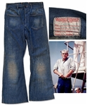 Steve McQueen Screen-Worn Blue Jeans From The Sand Pebbles, The Film That Garnered Him a Best Actor Oscar Nomination