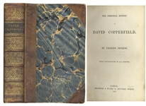 David Copperfield First Edition, First Printing by Charles Dickens