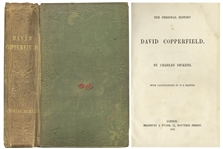First Edition of Charles Dickens by David Copperfield -- Early Printing From 1850