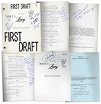 Comedic Genius Lucille Balls First and Final Draft Scripts From A 1971 Episode of Heres Lucy Guest Starring Dinah Shore - Including Lucys Handwritten Script Notes