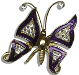 Mouseketeer Annette Funicello Personally Owned & Worn Butterfly Brooch