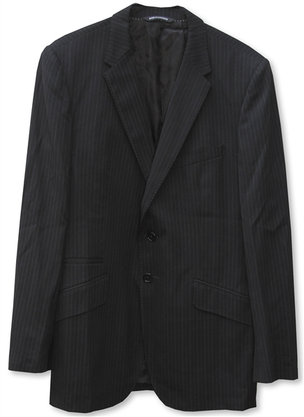 Dennis Hopper Pinstriped Jacket From 2008 TV Series ''Crash''