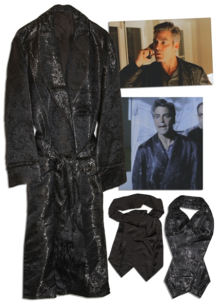 George Clooney Screen-Worn Costume From ''Intolerable Cruelty''