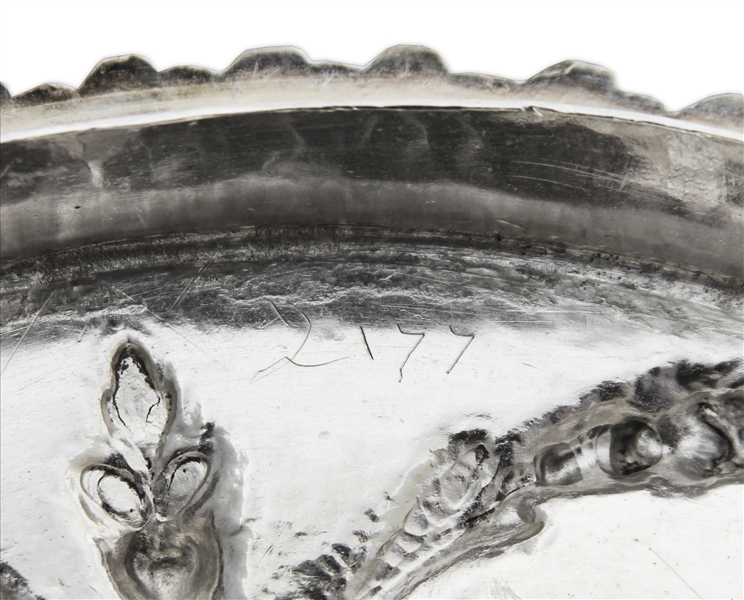 King George III Style Silver Two-Handled Cup & Cover -- From 1771