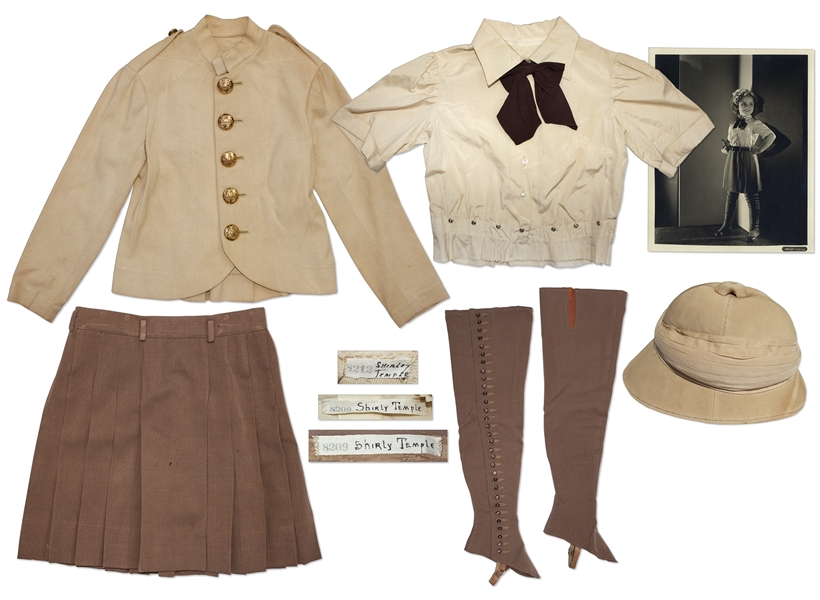 Shirley Temple Outfit From 1937 Film ''Wee Willie Winkie''