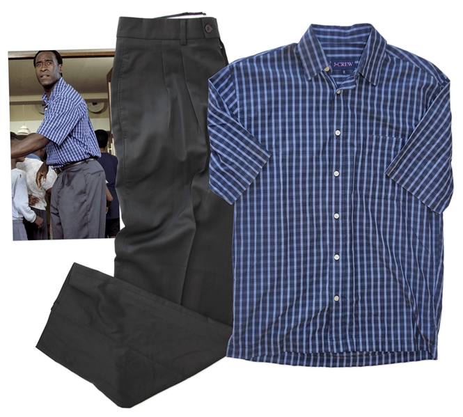 Don Cheadle Screen-Worn Outfit from His Academy Award Nominated Role in ''Hotel Rwanda''