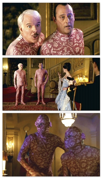 Steve Martin's ''Inspector Jacques Clouseau'' Pink Camouflage Costume From the ''Pink Panther''