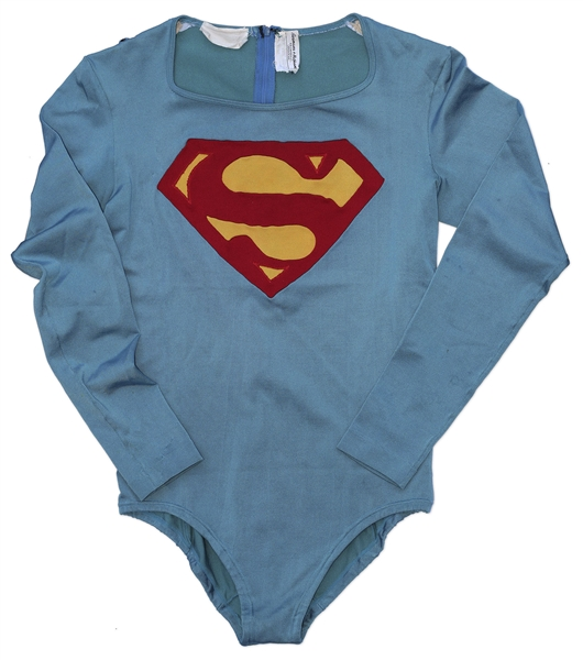 Superman Hero Costume Worn by Christopher Reeve in the 1978 Superman Film