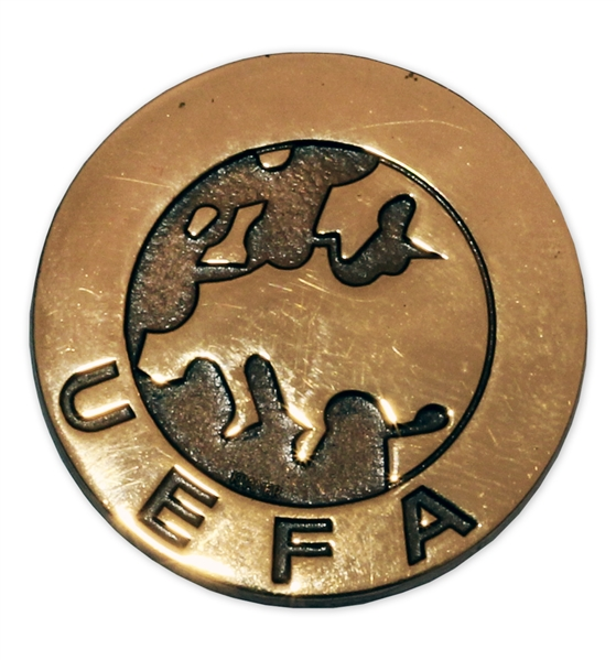 UEFA Cup Gold Medal -- Won by West Germany in 1980