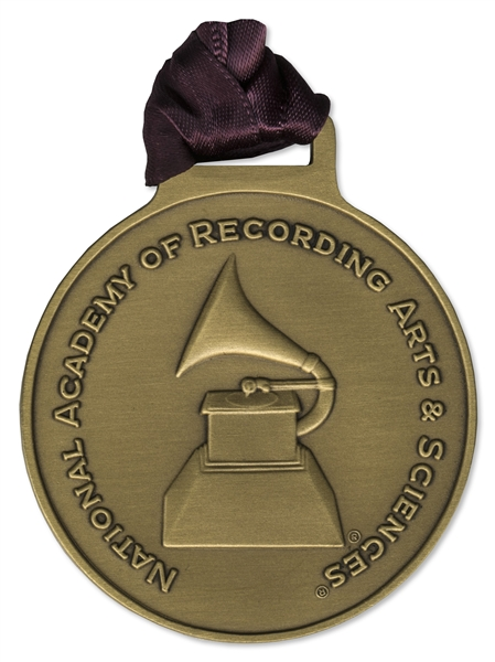 Grammy Nomination Medal & Certificate -- Awarded for Best Hard Rock Performance in 2000 to Limp Bizkit