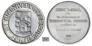 Dirac Prize Medal Awarded to Theoretical Physicist Kenneth Wilson