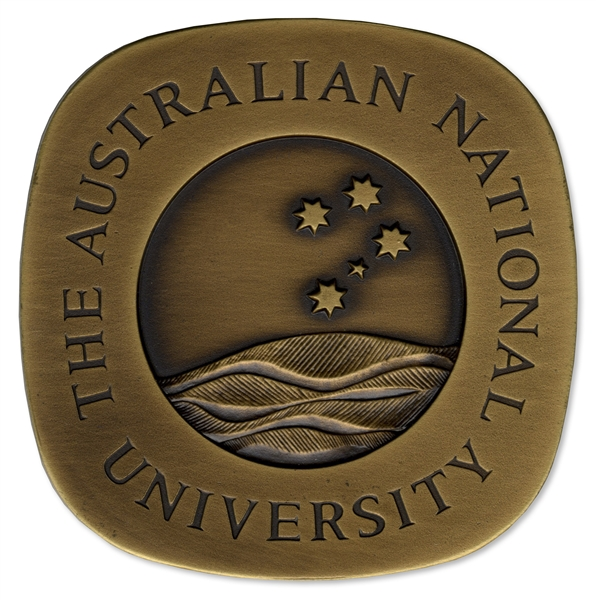 Australian National University Award Medal -- Presented to Nobel Prize Winner Kenneth G. Wilson