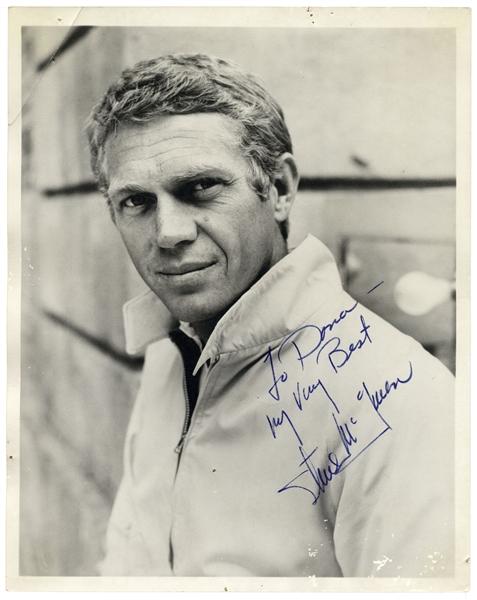 Steve McQueen Autograph Steve McQueen 8'' x 10'' Signed Photo