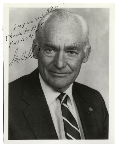 Sam Walton Signed Photo -- With PSA/DNA COA