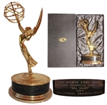 2005 Sports Emmy Awarded to ESPN for the NBA Draft -- Stunning, Near Fine Condition With Emmy Box