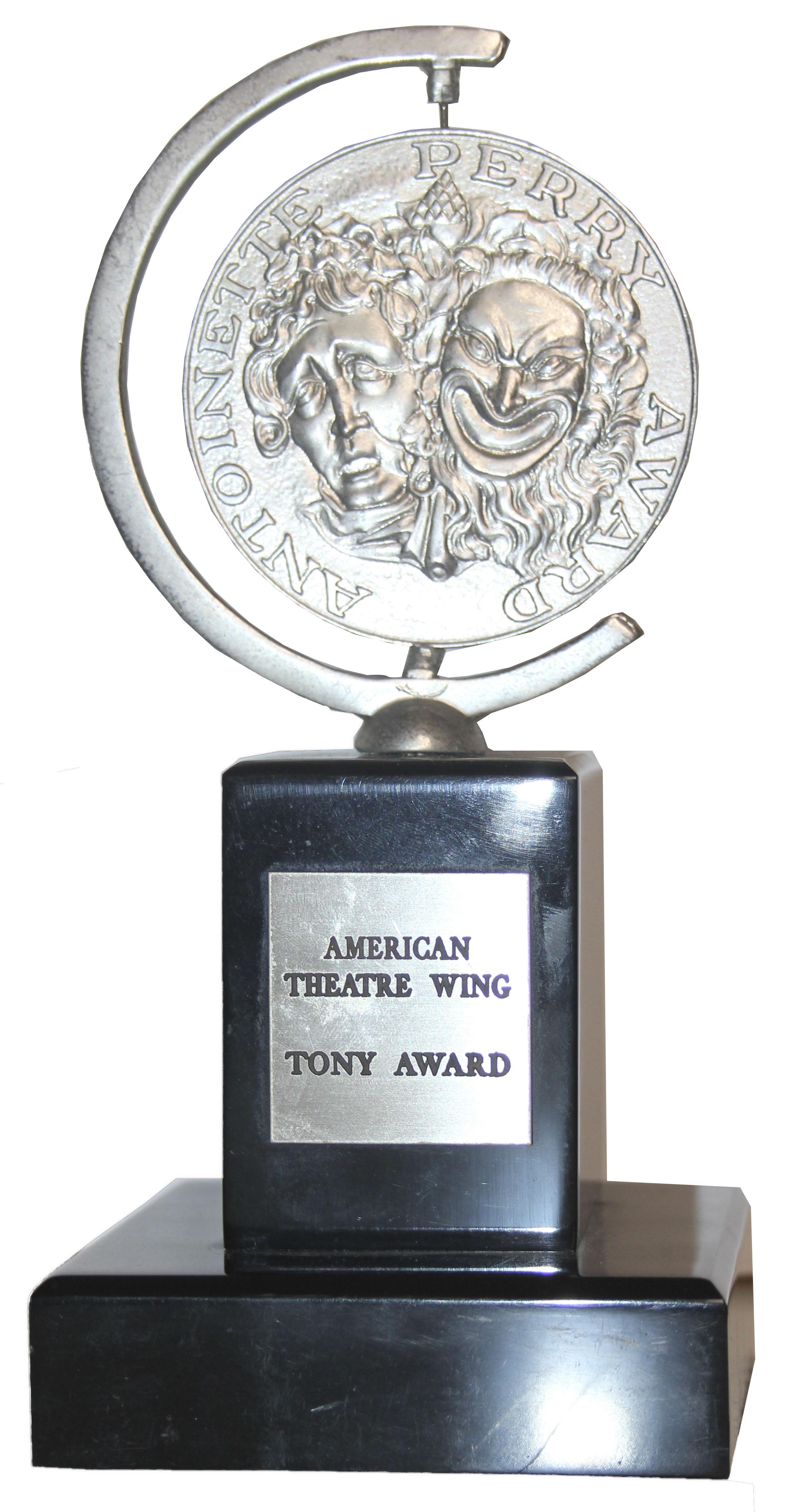 Lot Detail Tony Award For Gypsy In 1990 Awarded