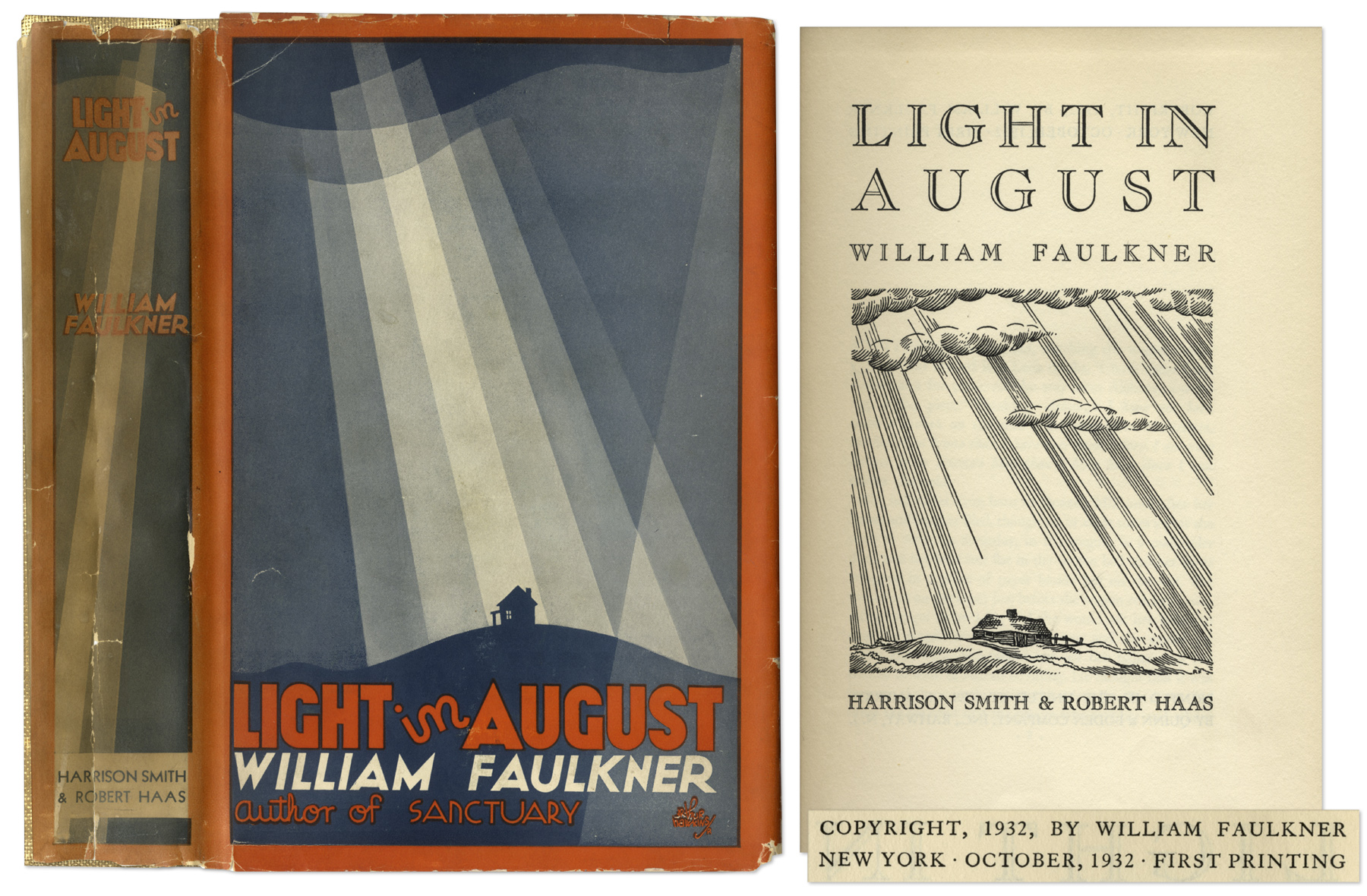 the symbolism in light in august by william faulkner Light in august by william faulkner paperback | january 30,  discuss the ways in which joe christmas functions among the white community as an idea, a symbol, a.
