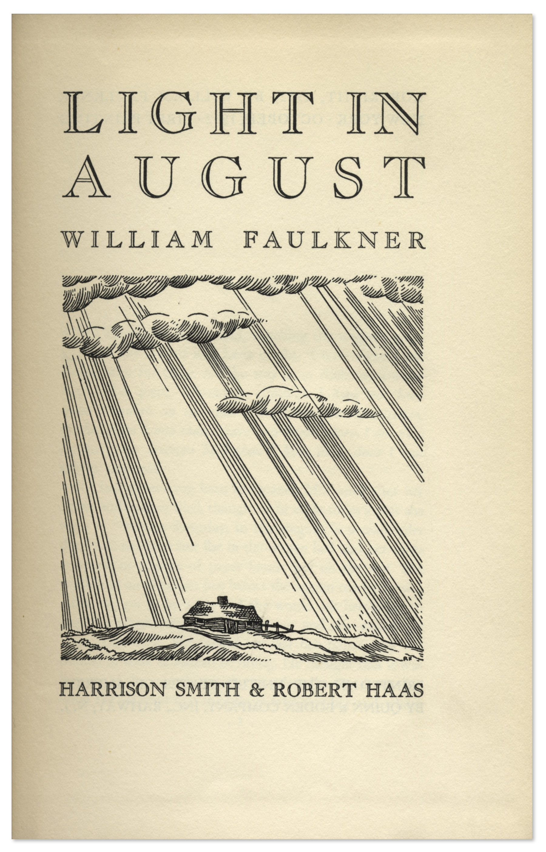 major themes in faulkner s light in Thus the south of light in august seems to have at least begun to move forward, yet the progress it has made is so miniscule that it only serves to highlight the light in august study guide contains a biography of william faulkner, literature essays, quiz questions, major themes, characters, and a full.