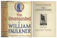 First Edition, First Printing of William Faulkners The Unvanquished