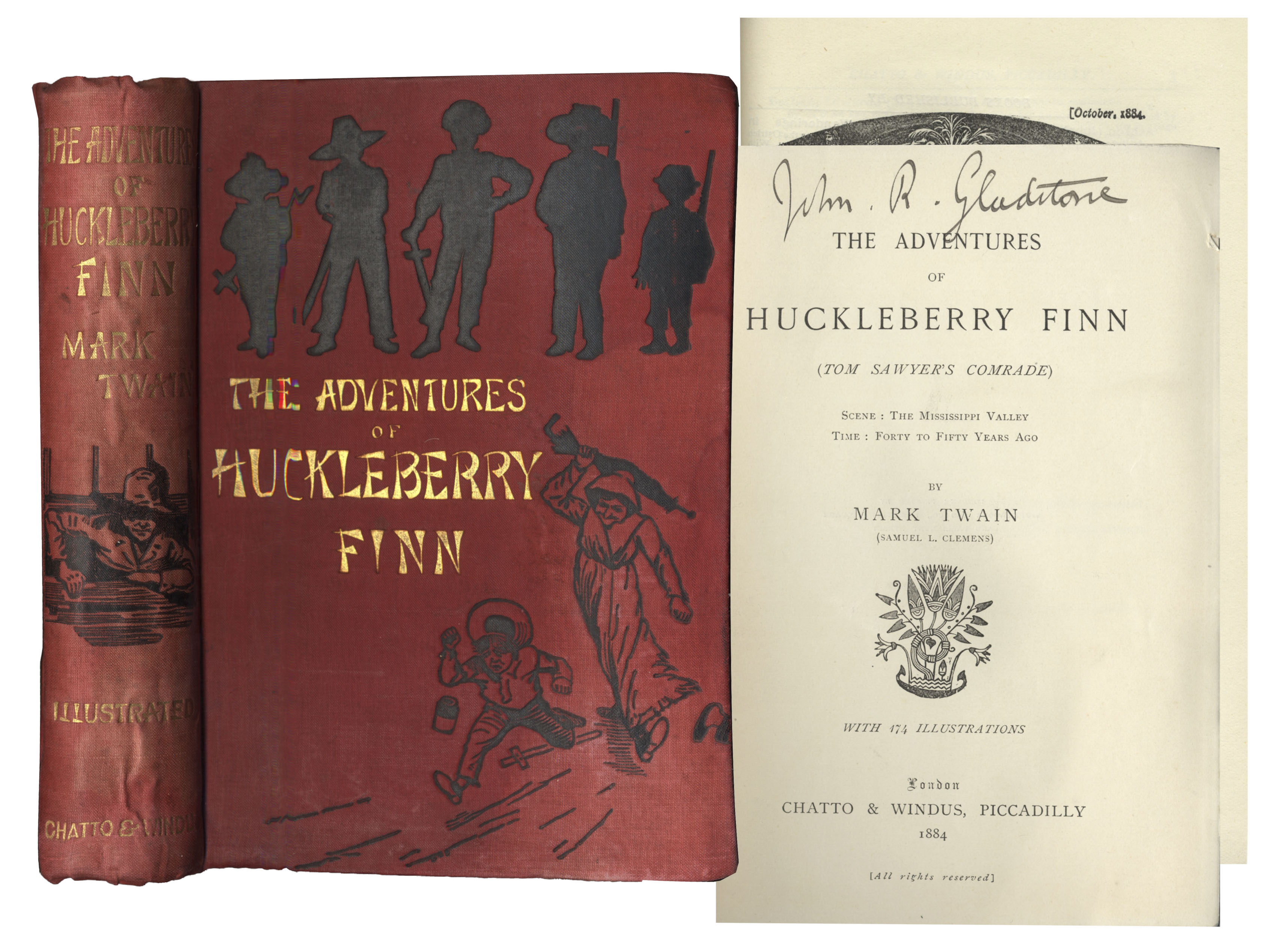 an examination of the adventures of huckleberry finn by mark twain The adventures of huckleberry finn has 1,038,235 ratings and 13,156 reviews david said: after reading adventures of huckleberry finn, i realized that i.
