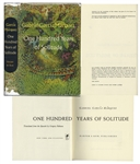 First English Printing of One Hundred Years of Solitude by Gabriel Garcia Marquez -- In First Printing Dust Jacket
