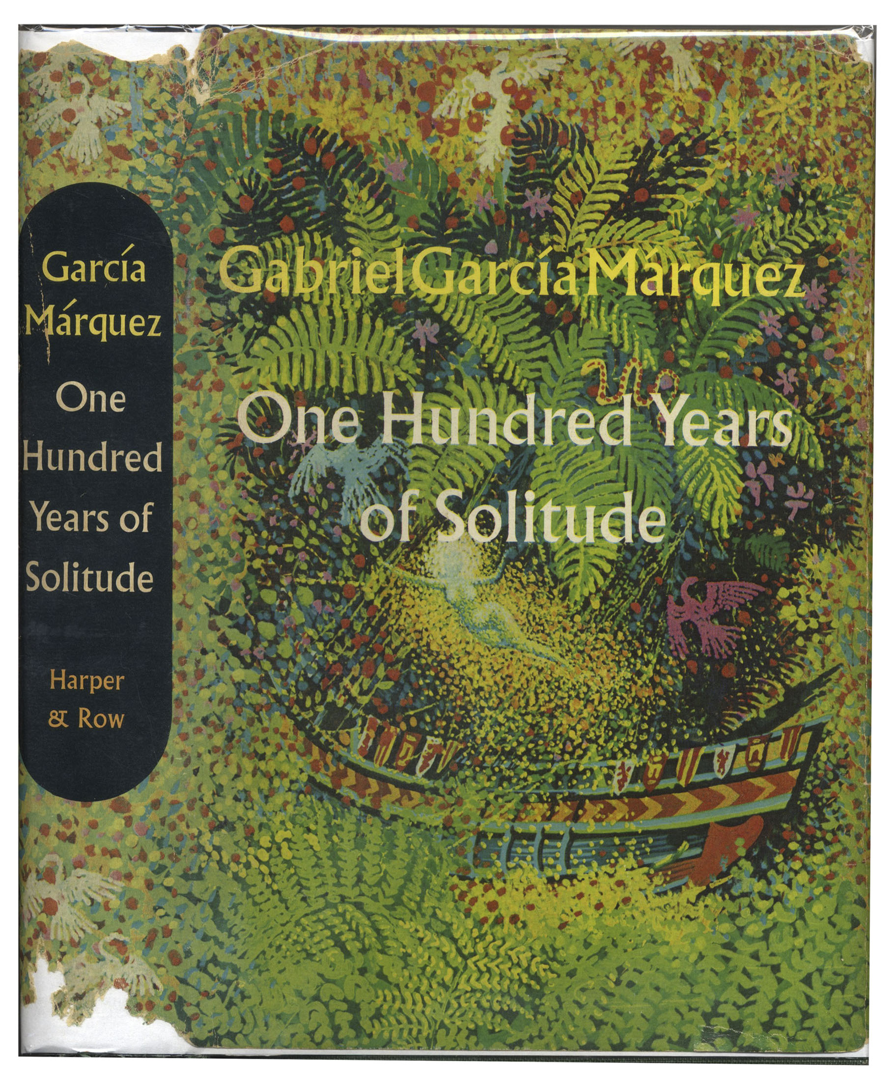 a hundred years of solitude and Of all the works by garcía márquez , this novel is the most fascinating and the most complex from the very beginning, we recognize the same elements.
