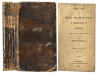 James Fenimore Coopers Last of the Mohicans First Edition