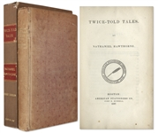 First Edition of Nathaniel Hawthornes Twice-Told Tales -- One of Only 1,000 Printed, in Scarce Original Binding