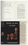 First Edition of H.P. Lovecrafts Beyond the Wall of Sleep